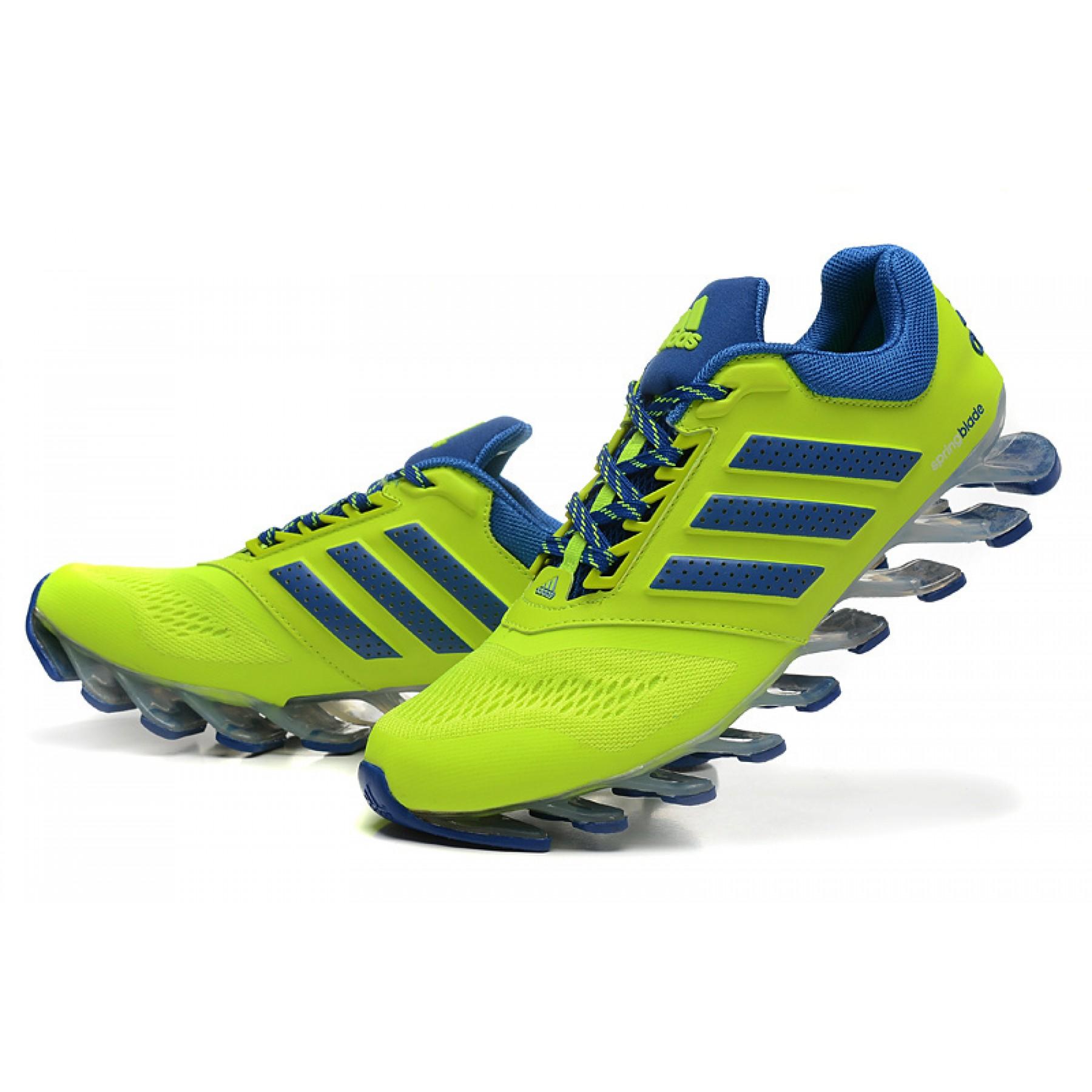 t nis adidas springblade drive 2 0 masculino verde lima e azul cod 0546 rh eleelaimportados com br