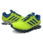 Tênis Adidas SpringBlade Drive 2.0 Masculino Verde Lima e Azul Cod 0546