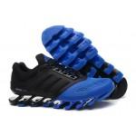 Tênis Adidas SpringBlade Drive 2.0 Masculino Cor Preto com Azul Escuro Cod 0571