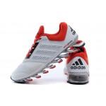 Tênis Adidas SpringBlade Drive 2.0 Masculino Cor Branco e Vermelho Cod 0573
