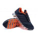 Tênis Adidas SpringBlade Drive 2.0 Masculino Cor Azul Navy e Laranja Cod 0574