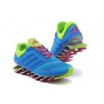 Tênis Adidas SpringBlade Drive 2.0 Masculino Cor Azul Celeste Verde Cod 0575