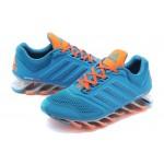 Tênis Adidas SpringBlade Drive 2.0 Masculino Cor Azul e Rosa Cod 0576