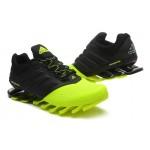 Tênis Adidas SpringBlade Drive 2.0 Masculino Cor Preto e Verde Claro Cod 0579