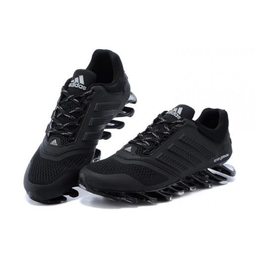Tênis Adidas SpringBlade Drive 2.0 Masculino Cor Preto com Detalhes Cinza Cod 0580