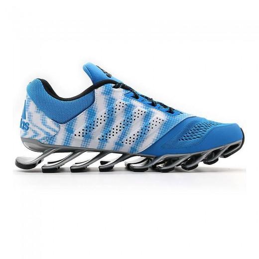 Tênis Adidas SpringBlade Drive 2.0 Masculino Azul Celeste e Branco 0684