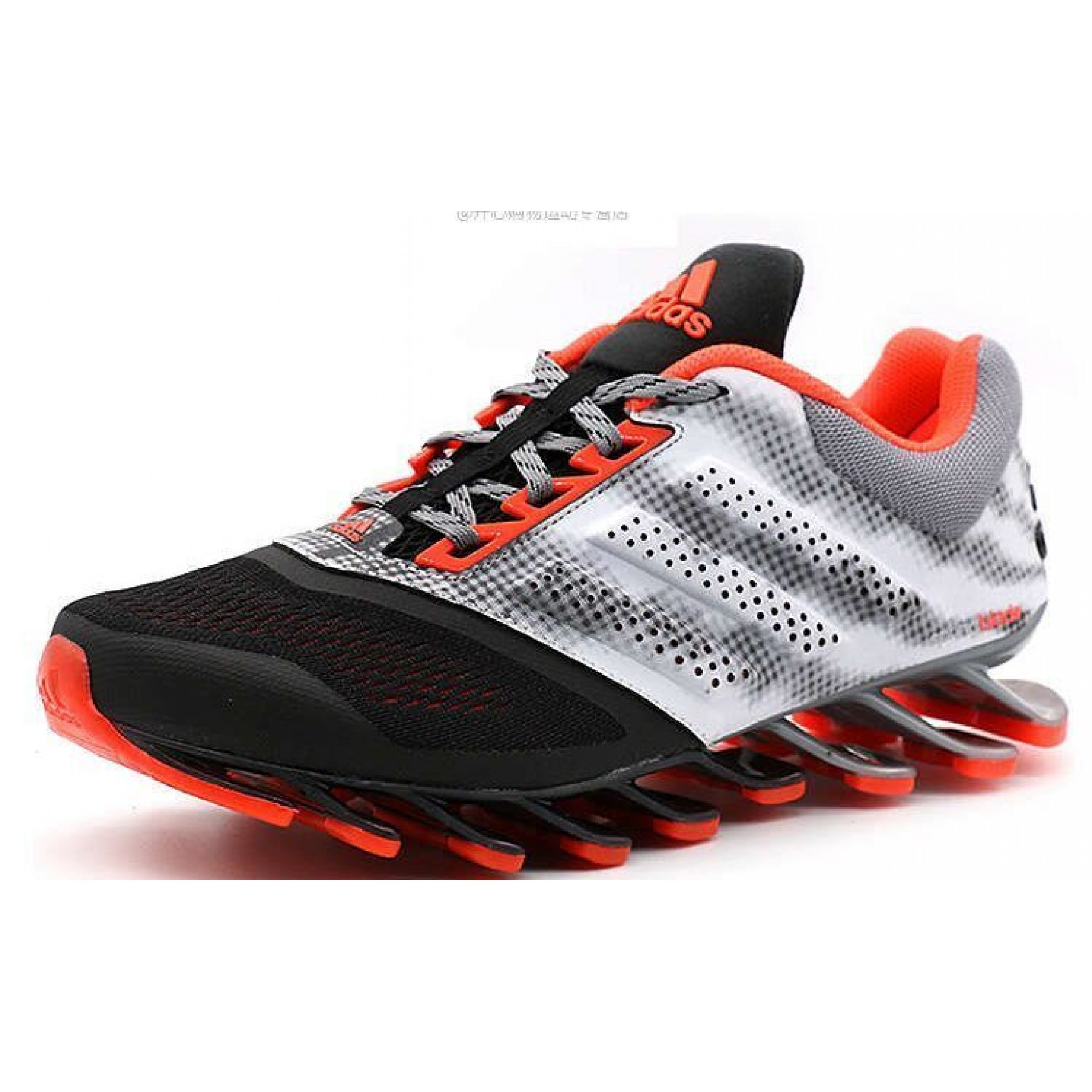Tênis Adidas SpringBlade Drive 2.0 Masculino Preto Laranja e Cinza Cod 0685 79d0efb1a8502
