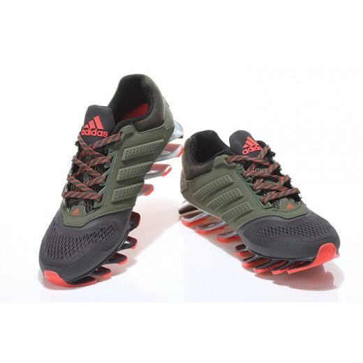 brand new 9bd3a 41881 Tênis Adidas SpringBlade Drive 2.0 Masculino Preto e Laranja Cod 0548