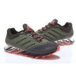 Tênis Adidas SpringBlade Drive 2.0 Masculino Preto e Laranja Cod 0548