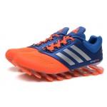 Tênis Adidas SpringBlade Drive 2.0 Masculino Azul Escuro Laranja Cod 0549