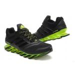 bbb662960425d Tênis Adidas SpringBlade Drive 2.0 Masculino Preto Verde Limão Cod 0561