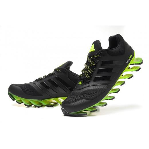 907e02455ef Tênis Adidas SpringBlade Drive 2.0 Masculino Preto Verde Limão Cod 0561