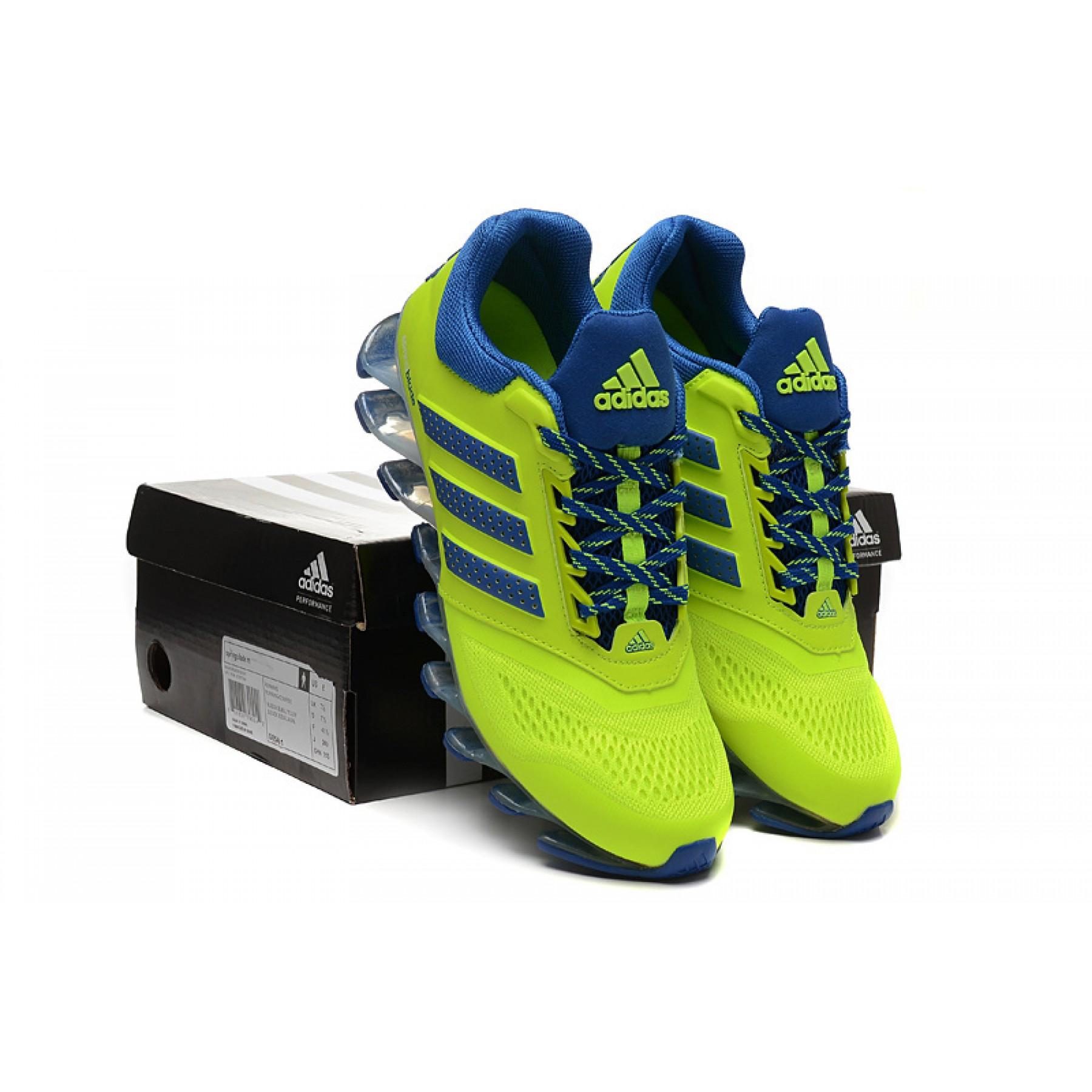 info for 182da bd2d7 2fefd 7f58e  australia tênis adidas springblade drive 2.0 masculino verde  lima e azul cod 0546 810b0 49f97