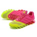 Tênis Adidas SpringBlade Drive 2.0 Feminino Cores Verde e Rosa Cod 0563
