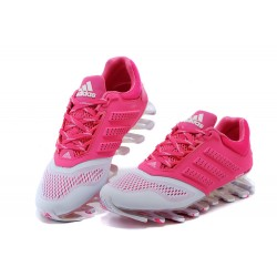 26e8f3362a Tênis Adidas SpringBlade Drive 2.0 Feminino Cores Branco e Rosa Cod 0564