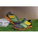 Tênis Adidas SpringBlade Drive 5 Masculino Azul Preto e Laranja Cod 0709