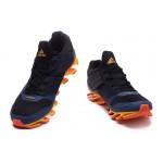 Tênis Adidas SpringBlade Drive 5 Masculino cor Azul e Laranja Cod 0692