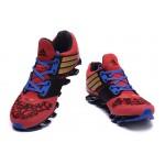 Tênis Adidas SpringBlade Drive 5 Masculino cor Vinho Preto e Azul Cod 0693