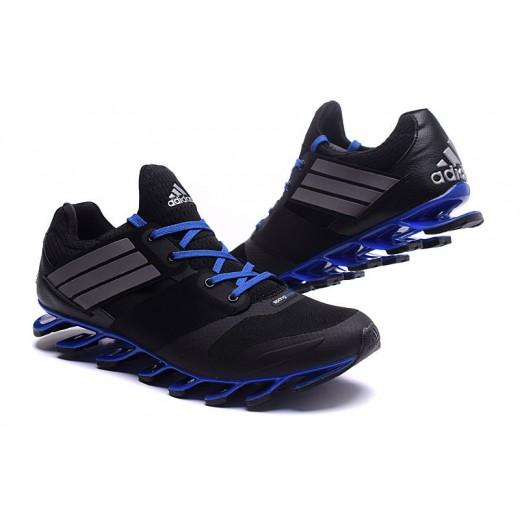 Tênis Adidas SpringBlade Drive 5 Masculino cor Preto e Azul Cod 0696 37a32a5354def