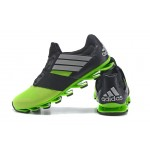 Tênis Adidas SpringBlade Drive 5 Masculino cor Verde e Preto Cod 0690