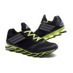 Tênis Adidas SpringBlade Drive 5 Masculino cor Preto e Verde Limão Cod 0697