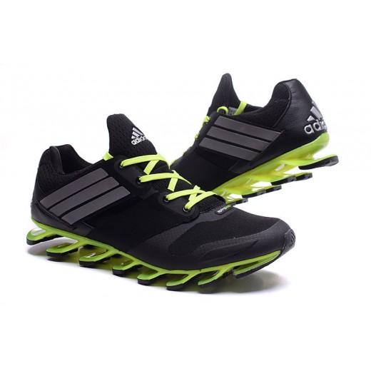 adidas springblade drive preto e verde limao