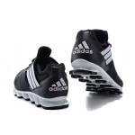 Tênis Adidas SpringBlade Drive 5 Masculino cor Preto com detalhes  Prata Cod 0699