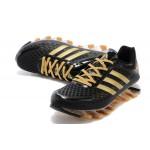 Tênis Adidas SpringBlade Razor Preto e Dourado Cod 0397