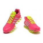 Tênis Adidas SpringBlade Razor Unissex Rosa e Amarelo Cod 0400