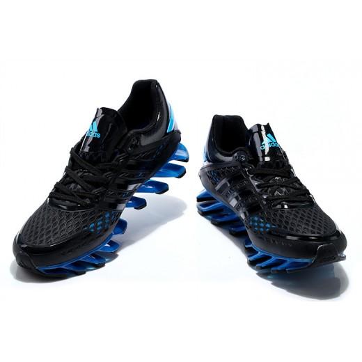 outlet store cb213 efa3c Tênis Adidas SpringBlade Razor Preto com Azul Safira Cod 0402