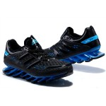 Tênis Adidas SpringBlade Razor Preto com Azul Safira Cod 0402