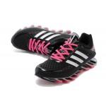 Tênis Adidas SpringBlade Razor Feminino Cores Preto e Vinho Brilhante Cod 0403