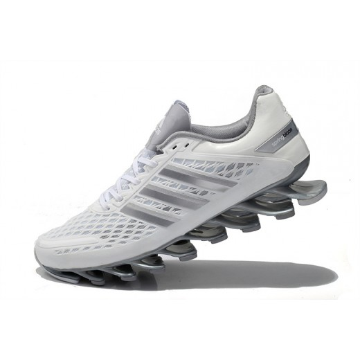 2e56c607d3 Tênis Adidas SpringBlade Razor Branco   Cinza Cod 0328