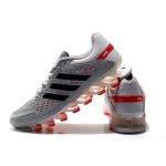 Tênis Adidas SpringBlade Razor Cinza Vermelho e Preto Cod 0334