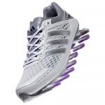 Tênis Adidas SpringBlade Razor Feminino Branco Cinza Prateado Cod 0335