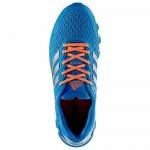 Tênis Adidas SpringBlade Razor Feminino Azul Celeste com Detalhes Laranja Cod 0337
