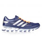Tênis Adidas SpringBlade Razor Azul Escuro com Detalhes Laranja Cod 0339