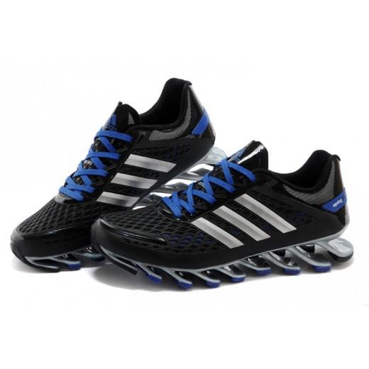 Tênis Adidas SpringBlade Razor Preto e Azul Cod 0396