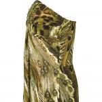 Vestido Longo com Strapless de Cristal Plissado. Vestido de Noite e para festa e Casamento 1156