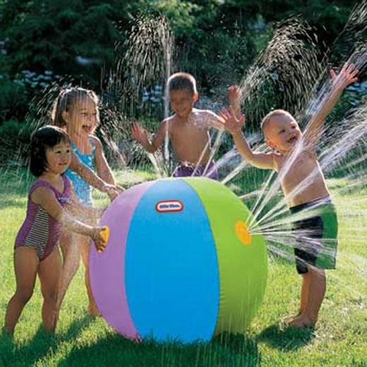 Brinquedo bola inflável com água em PVC 0407-EL