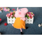 Brinquedo de Pelúcia Peppa Pig e Família com Amigos e George Pig 0406-EL