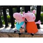 Brinquedo de Pelúcia Peppa Pig e Família 0404-EL