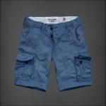 Bermuda Abercrombie Masculino Estilo Cargo Cores Camuflado e Azul 0598-EL 5e772f0637d0c