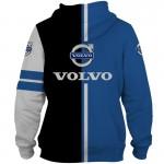 Jaqueta ou Blusa de Moletom com Capuz e com logotipo Volvo Material Polyester 1345-EL