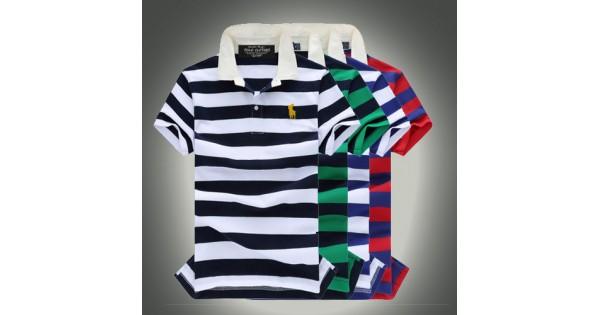9b264b854874b Camisa Polo Masculino Ralph Lauren com Listas Cod 0515