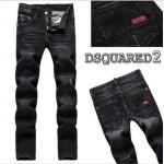 Calça Jeans Masculino Modelo 0130 Marca Dsquared Cor Preta