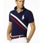 Camisa Polo Dual Match Ralph Lauren cor Azul Cod 0267