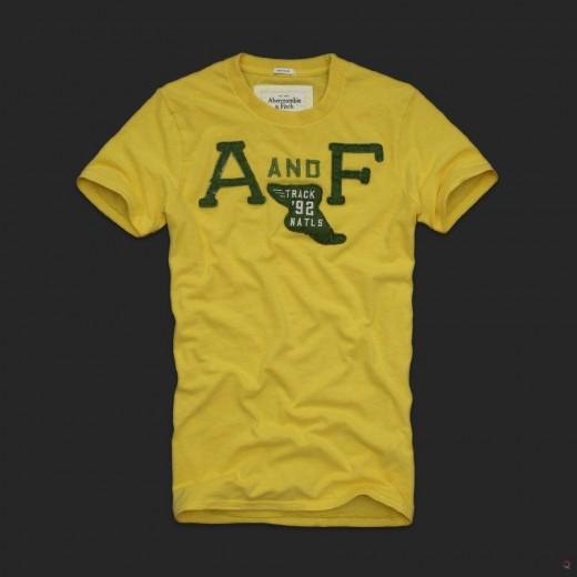 Lote de 5 Camisetas Abercrombie & Fitch - Cod 0308