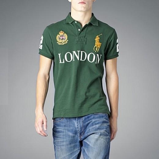 Camisa Polo Verde Londres Ralph Lauren - Cod 0309 088ad66878432