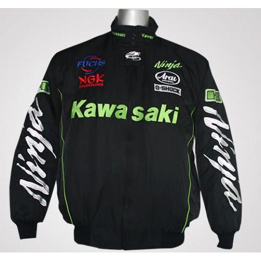 Jaqueta Preta Kawasaki Ninja Cod 0316